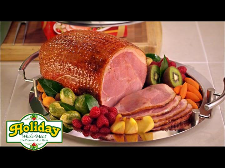 Second, the Holiday Ham is a high-quality smoked ham. The net marks ...