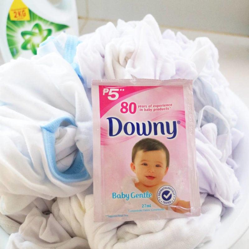 downy baby gentle